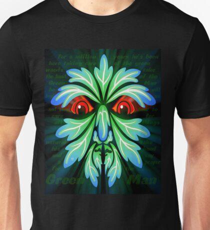 GREEN MAN WAKING Unisex T-Shirt