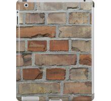 vintage red brick wall texture iPad Case/Skin