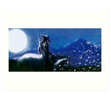 Vampire Hunter D Moonlight Art Print