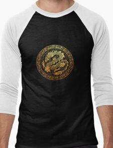 dragon 2 Men's Baseball ¾ T-Shirt
