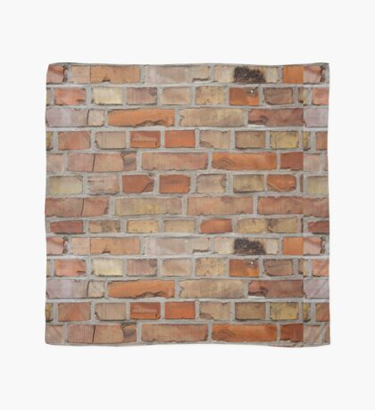 Red wall - brick wall background Scarf