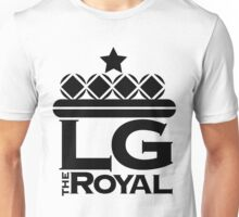 LG The Royal...Crown 'Em! (Black Letters) Unisex T-Shirt