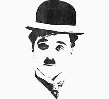 Charlie Chaplin - Leather Unisex T-Shirt