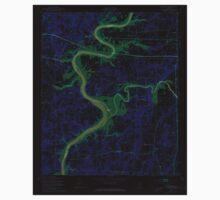 USGS TOPO Map Alabama AL Riverside 304952 1947 24000 Inverted One Piece - Short Sleeve