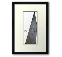 Wearable Metaphor (big deal simplified) Framed Print
