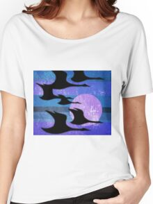 Midnight Migration Women's Relaxed Fit T-Shirt