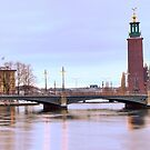 Stockholm City Hall by João Figueiredo