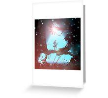 Keytar Forest Greeting Card