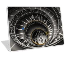 Vatican Museums Spiral Staircase Laptop Skin