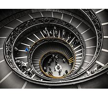 Vatican Museums Spiral Staircase Photographic Print