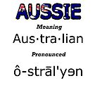 Aussie pronunciation by Craig Stronner