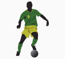Brazil football player One Piece - Short Sleeve