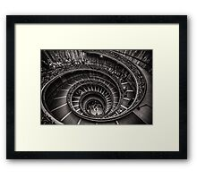 Vatican Museums Spiral Staircase -2 Framed Print