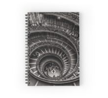 Vatican Museums Spiral Staircase -2 Spiral Notebook