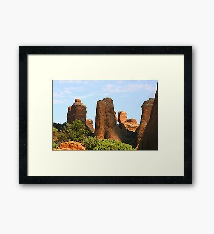 Arches 002 Framed Print