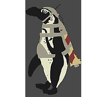 Rocket Penguin Photographic Print