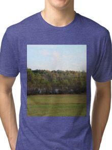 Lush Green Tri-blend T-Shirt