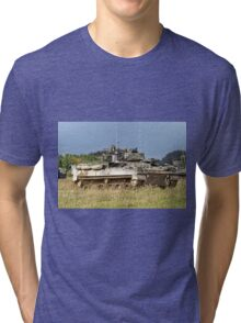 British Army Warrior Infantry Fighting Vehicles Tri-blend T-Shirt
