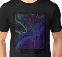 USGS TOPO Map Alabama AL Glencoe 303983 1956 24000 Inverted Unisex T-Shirt