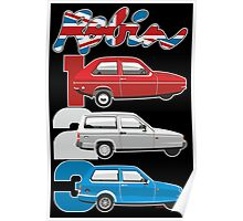 Reliant Robin evolution Poster