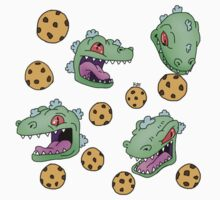 Cookie Dinosaur One Piece - Long Sleeve