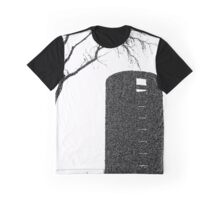 Tree, on the Farm | Black and White | Garden and Nature Graphic T-Shirt