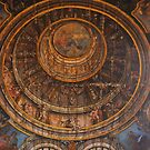 Ragusa Ibla, Sicily. Church of  San Vincenzo Ferreri. Fake Dome Painted on the Ceiling by Igor Pozdnyakov