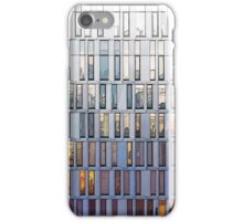 architecture illustration - graphic building facade iPhone Case/Skin