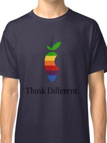 """Apple Parody Zootopia Carrot """"Think Different"""" Logo Classic T-Shirt"""