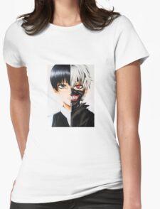 Ken Kaneki!!!! Womens Fitted T-Shirt
