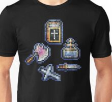 Castelvania Sub-Weapons Set Unisex T-Shirt
