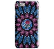 Stained Glass Rose iPhone Case/Skin