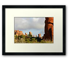 Arches 006 Framed Print