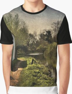 Cottage By The Kennet And Avon Canal Graphic T-Shirt