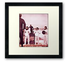 Apes on Earth Framed Print