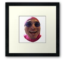 PAPA FILTHY FRANK - LAUGHING  Framed Print