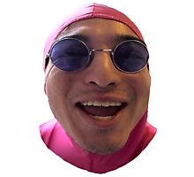 PAPA FILTHY FRANK - LAUGHING  Photographic Print
