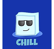 Chill Ice Cube Photographic Print