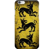 House Clegane Sigil from Game of Thrones iPhone Case/Skin