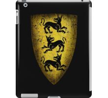 House Clegane Sigil from Game of Thrones iPad Case/Skin