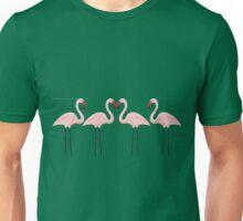Flamingo pink Unisex T-Shirt