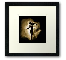 My Walking In My Shoes -Girl- Framed Print