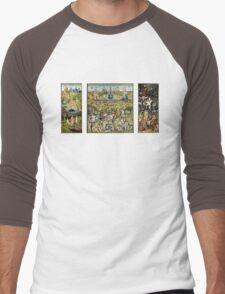 The Garden Of Earthly Delights Men's Baseball ¾ T-Shirt