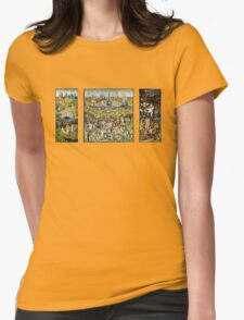 The Garden Of Earthly Delights Womens Fitted T-Shirt
