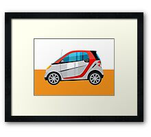Smart - subcompact car Framed Print