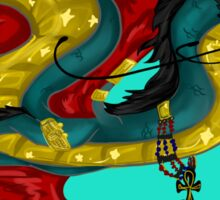 Egyptian inspired dragon Sticker