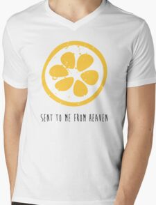 Lemon Heaven Mens V-Neck T-Shirt