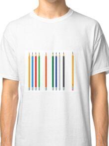 Pencils color set Classic T-Shirt