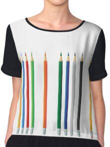 Pencils color set Chiffon Top