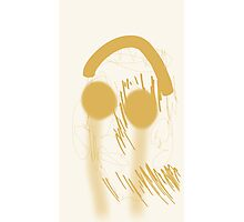 TYXPI FACE 1 Design (Spicy Mustard Color) Photographic Print